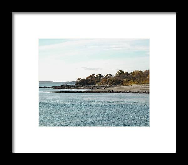 Island Framed Print featuring the photograph Little Chebeague Beach by Faith Harron Boudreau
