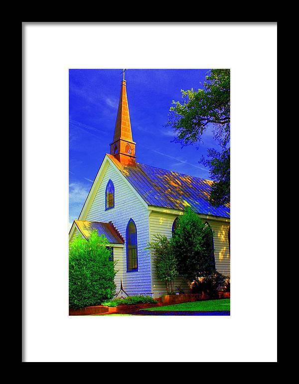Church Framed Print featuring the photograph Little Church by Jill Tennison