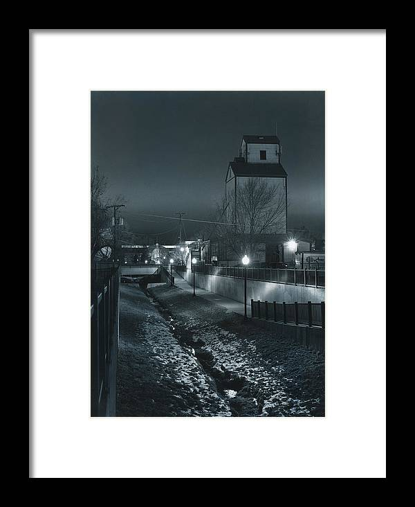 Old Mill Framed Print featuring the photograph Little Creek Walkway To Old Mill by Jim Furrer