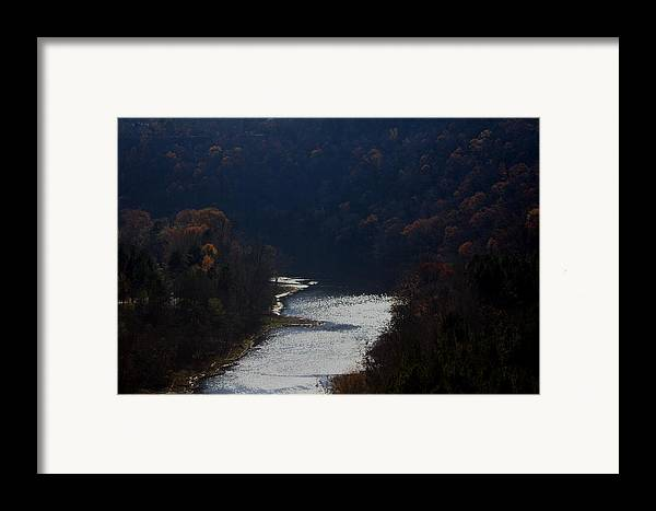 Landscape Framed Print featuring the photograph Little Red River by Lisa Johnston