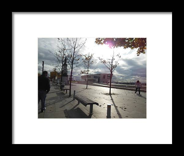 Liverpool Framed Print featuring the photograph Liverpool In The Fall by Patricia Russell