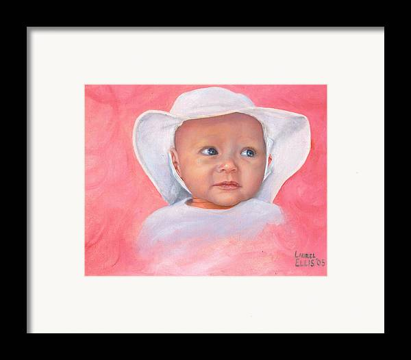 Framed Print featuring the painting Livi by Laurel Ellis