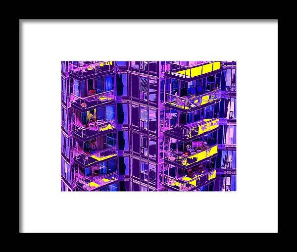 Urban Framed Print featuring the photograph Living Wall by Ian MacDonald