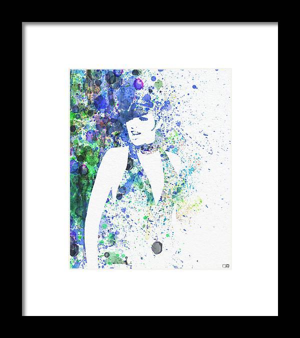Liza Minnelli Poster Digital Art Framed Print featuring the digital art Liza Minnelli Cabaret by Naxart Studio