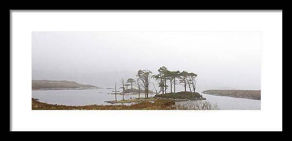 Loch Framed Print featuring the photograph Loch Assynt by Mike Bambridge