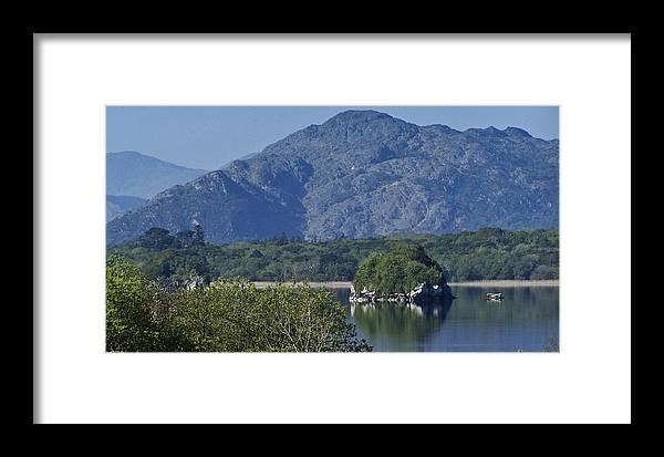 Irish Framed Print featuring the photograph Loch Leanne Killarney Ireland by Teresa Mucha