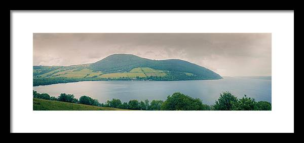 Loch Framed Print featuring the photograph Loch Ness Landscape, by Ray Devlin