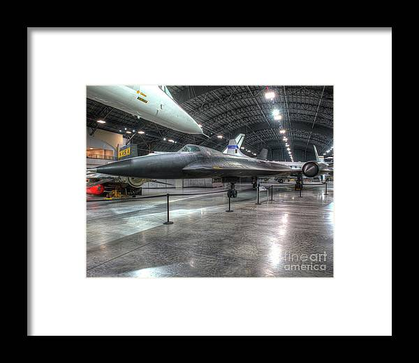 Dayton Framed Print featuring the photograph Lockheed Yf-12a by Greg Hager