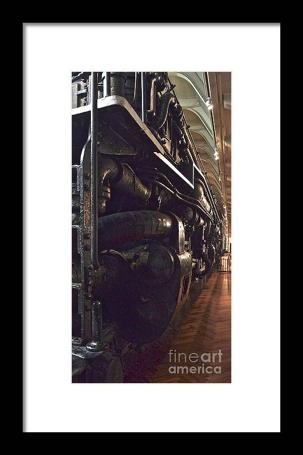 Jason Framed Print featuring the photograph Locomotive by Jason Layden