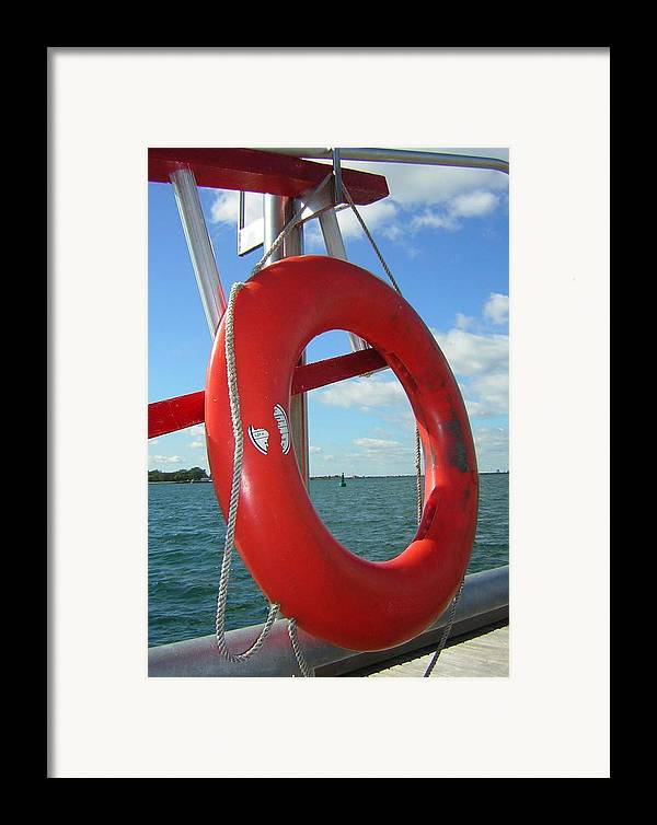 Lake Ontario Framed Print featuring the photograph Lokking Through Lake Ontario by Heather Weikel