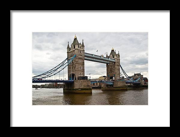 London Framed Print featuring the photograph London Bridge 1 by Douglas Barnett