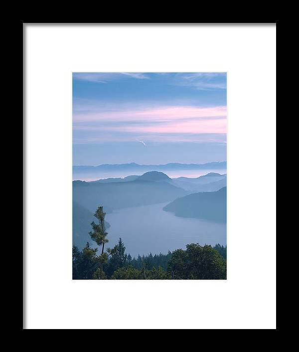Mountains Framed Print featuring the photograph Lone Pine by James Johnstone