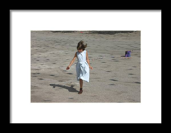 Photographer Framed Print featuring the photograph Lone Play by Jez C Self
