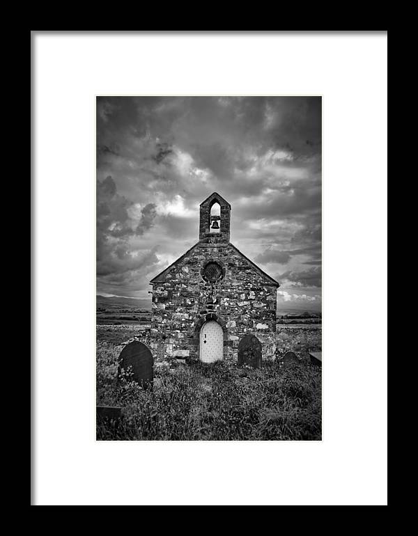 Lone Framed Print featuring the photograph Lonely Chapel by Brainwave Pictures