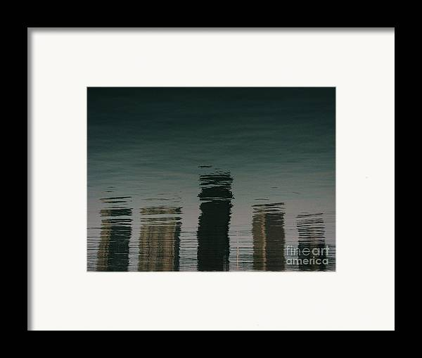 Lake Framed Print featuring the photograph Lonely Soul by Dana DiPasquale