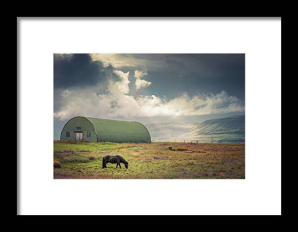 Landscape Framed Print featuring the photograph Lonesome by Siddhartha De