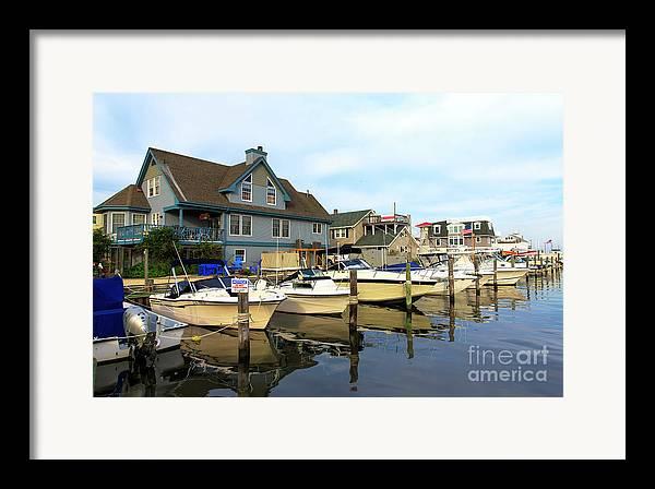Long Beach Island Living Framed Print featuring the photograph Long Beach Island Living by John Rizzuto