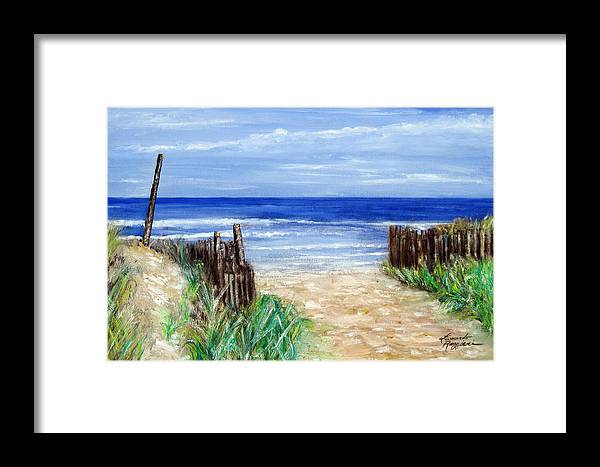 Long Beach Island Nj Framed Print By Leonardo Ruggieri