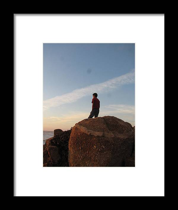 Framed Print featuring the photograph Lonleness by Kavita Sarawgi