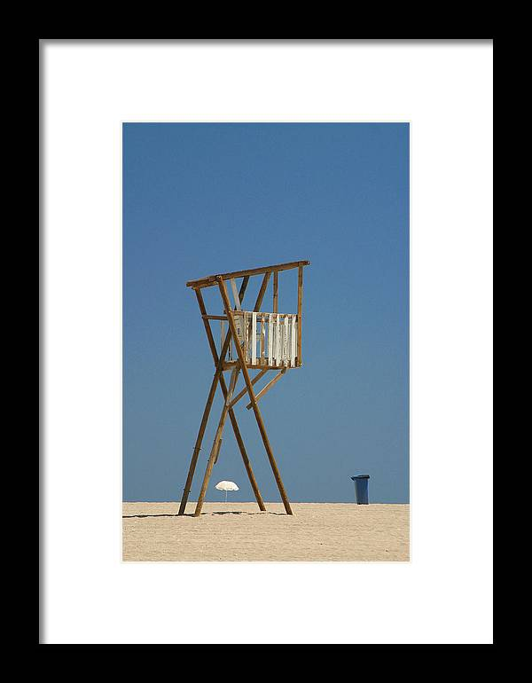 Beach Framed Print featuring the photograph Look Out by Jez C Self