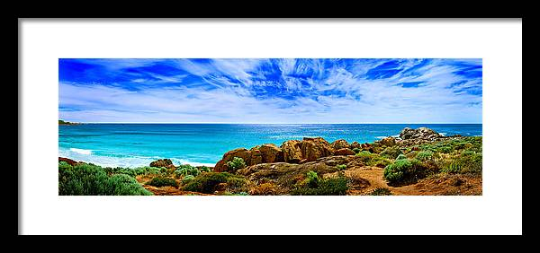 Smiths Beach Framed Print featuring the photograph Look To The Horizon by Az Jackson