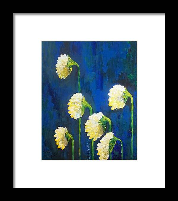 Framed Print featuring the painting Looking Back by Carol P Kingsley