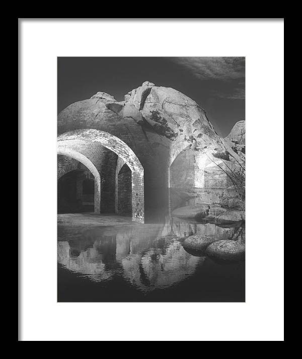 Surrealism Framed Print featuring the photograph Looking Beyond by Bob Bennett