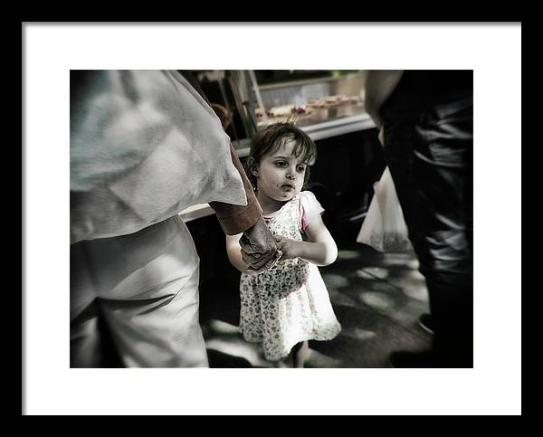 Streetphotography Framed Print featuring the photograph Looking For Alice by Michel Verhoef
