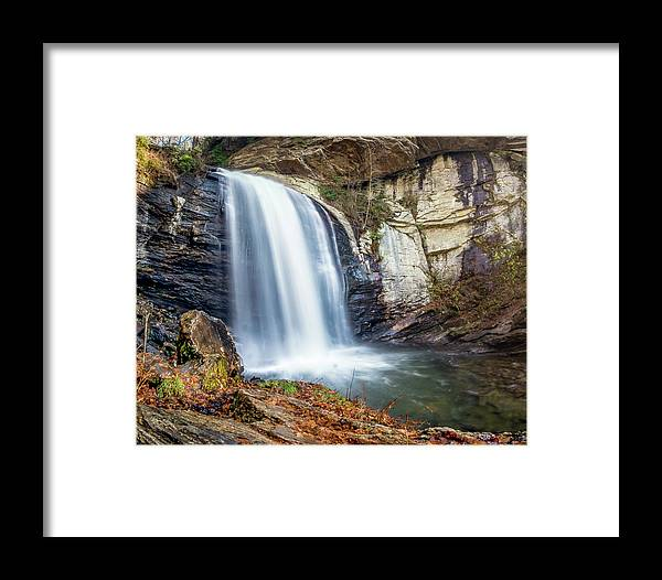 Beautiful Framed Print featuring the photograph Looking Glass Falls by Ryan Kelehar