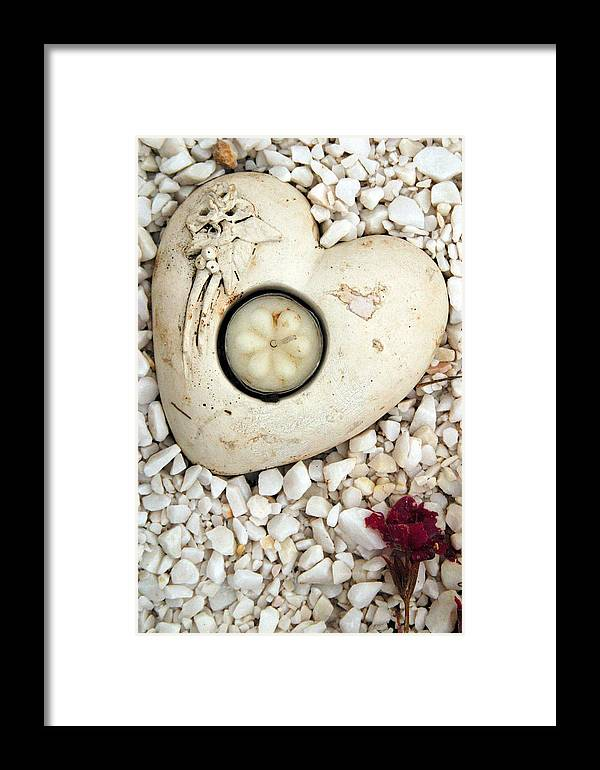 Photographer Framed Print featuring the photograph Lost Heart by Jez C Self
