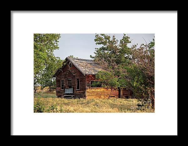 Old Homestead Framed Print featuring the photograph Lost Horizons by Jim Garrison