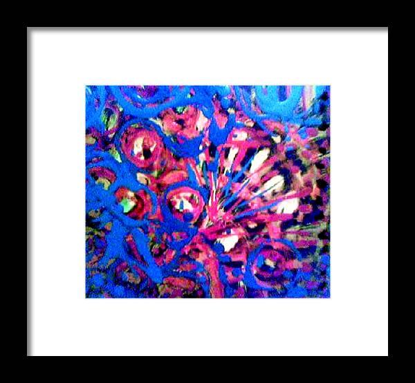 J Kamaru Framed Print featuring the mixed media Lost M' Mind by J Kamaru