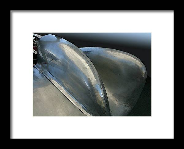 Automobile Framed Print featuring the photograph Lotus Position by Alan Olmstead
