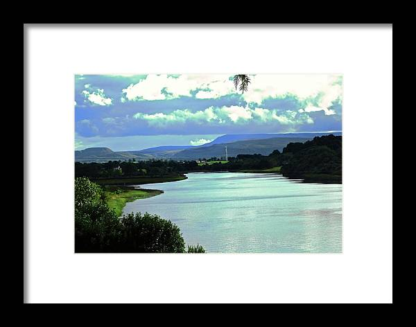Lake Framed Print featuring the photograph Lough Erne by Stephanie Moore
