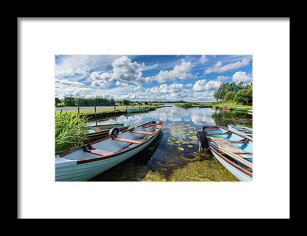 Landscape Framed Print featuring the photograph Lough O'Flynn, Roscommon, Ireland by Anthony Lawlor