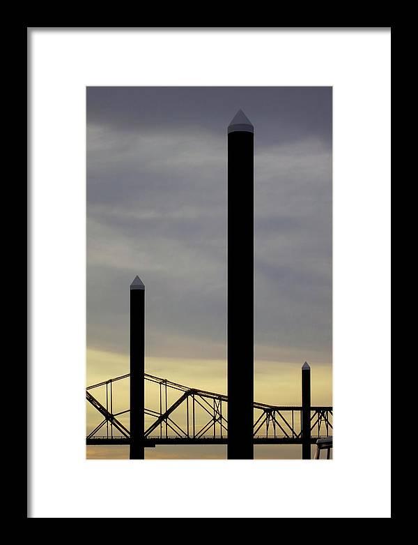 Louisville Framed Print featuring the photograph Louisville Dusk 1 by Art Ferrier