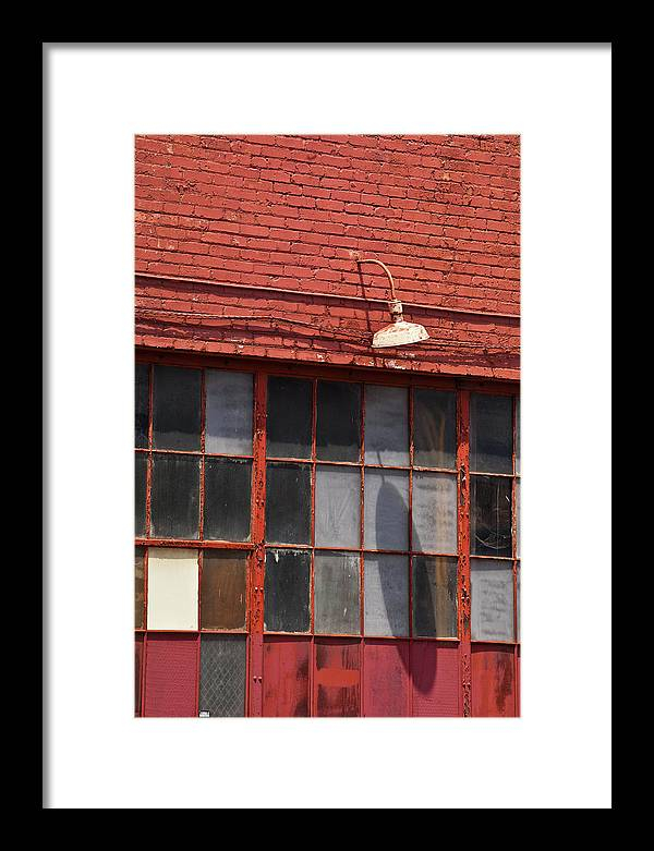 Louisville Framed Print featuring the photograph Louisville Red #1 by Art Ferrier