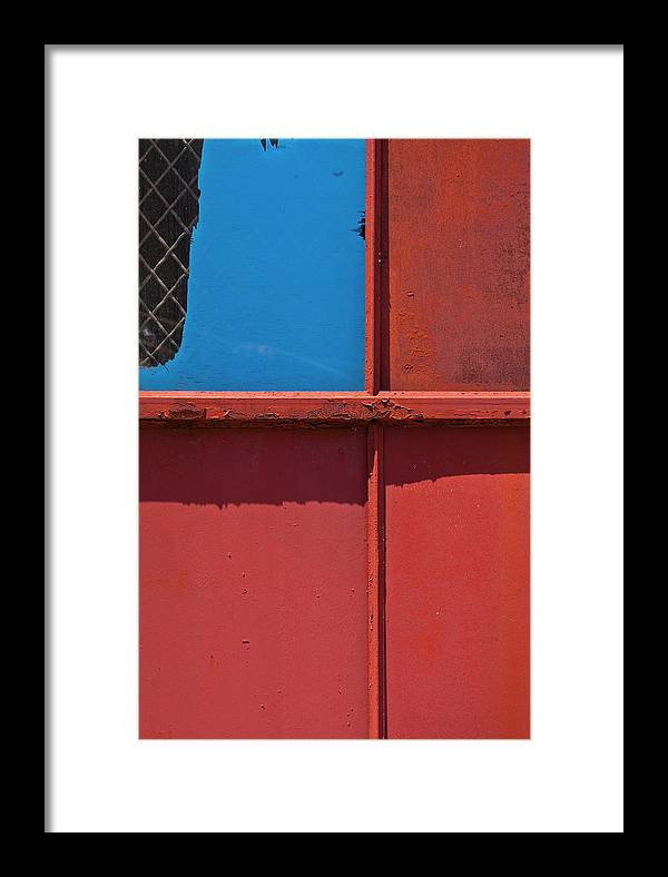 Color Framed Print featuring the photograph Louisville Red #2 by Art Ferrier