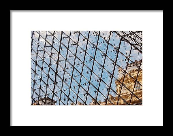Paris Framed Print featuring the photograph Lourve by JAMART Photography