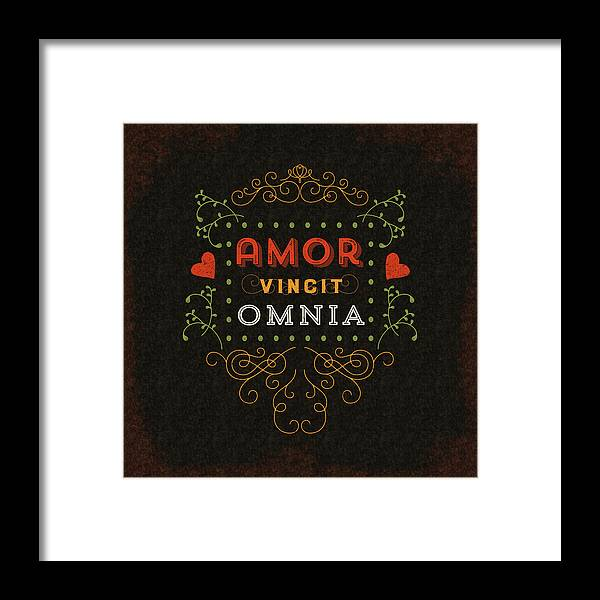 Love Framed Print featuring the digital art Love Conquers All by Antique Images