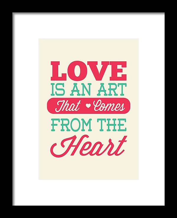 Love Is An Art That Comes From The Heart Valentines Day Special Impressive No Valentine Day Quotes
