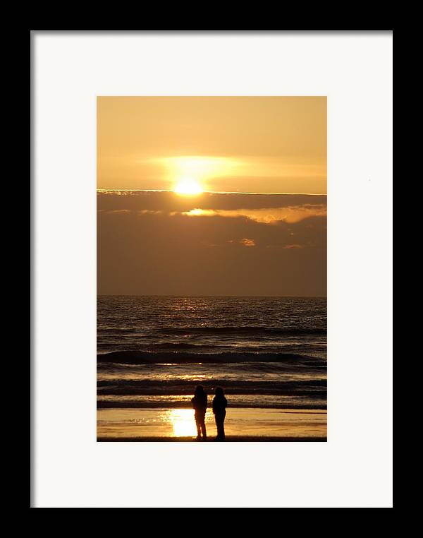 Framed Print featuring the photograph Love by JK Photography