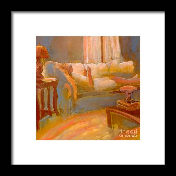 Love Framed Print featuring the painting Love Letter by Kip Decker