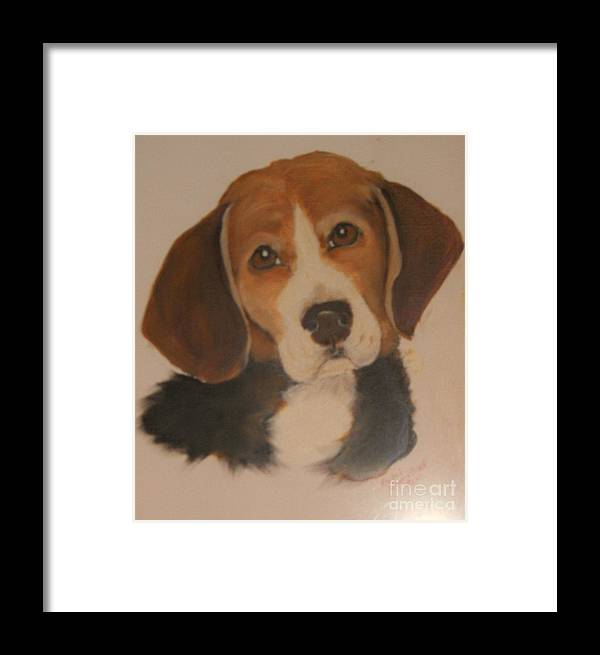 Oils Framed Print featuring the painting Love Me As I Love You by Rachel Carmichael