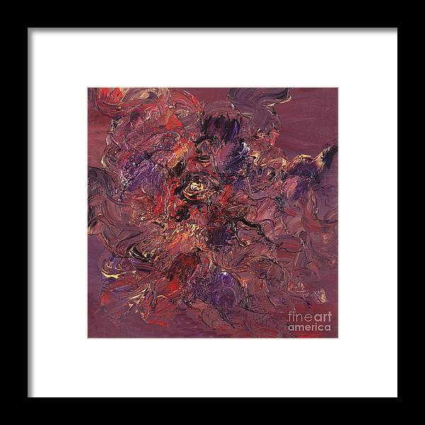Love Framed Print featuring the painting Love by Nadine Rippelmeyer