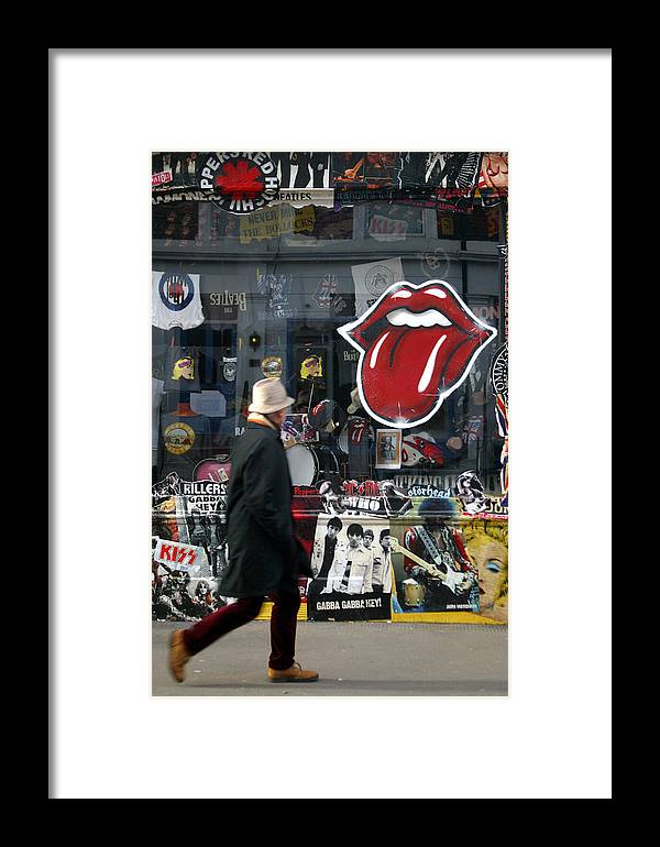 Jez C Self Framed Print featuring the photograph Love To Lick You by Jez C Self