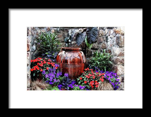 Garden Framed Print featuring the photograph Lovely Garden by Trina Ansel