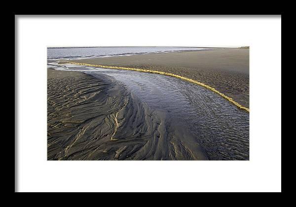 Beach Framed Print featuring the photograph Low Tide Morning by Elizabeth Eldridge