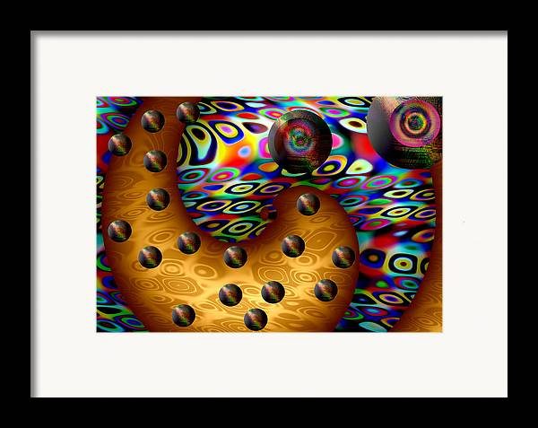 Digital Paintings Framed Print featuring the print Lowe by Yucel Donmez
