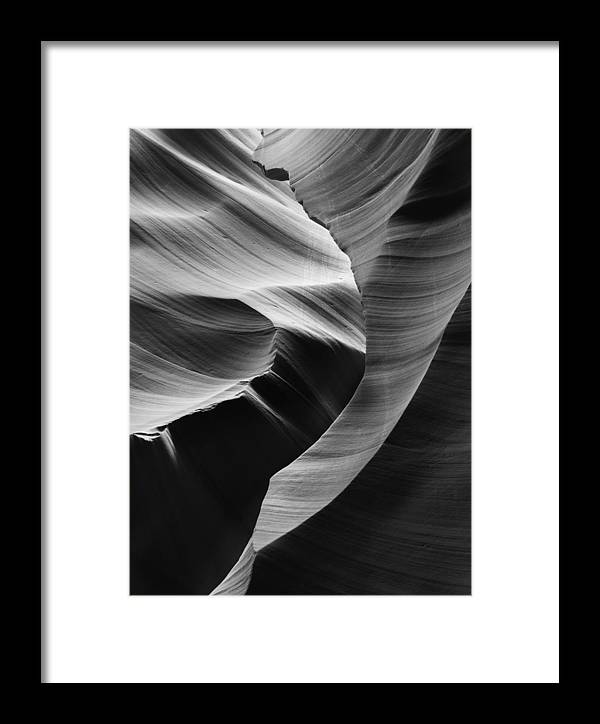 Slot Framed Print featuring the photograph Lower Antelope Canyon 2182 by Bob Neiman